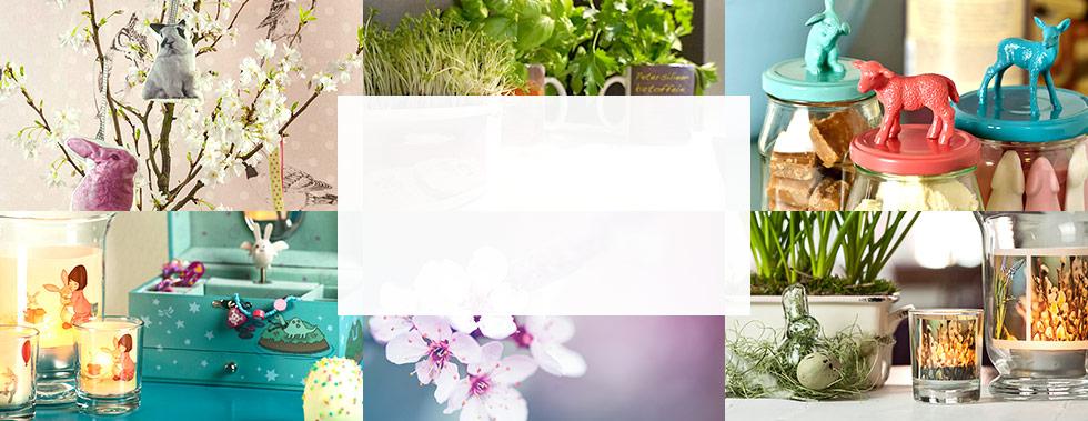 osterdeko basteln ideen hortensien lila rosa moos hasenfigur