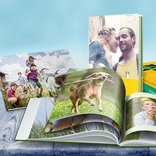 Das Fotobuch mit bis zu 200 Seiten