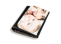 Leder Portemonnaie mit Foto
