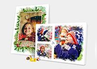 Foto Adventskalender mit Schokolade