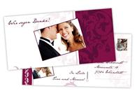 Postkarte lang gestalten