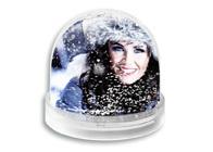 Schneekugel für Fotos