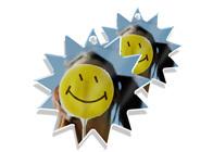 Acryl-Anhänger mit Foto Stern