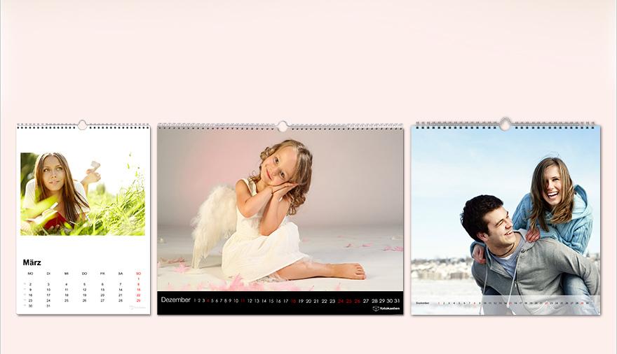 fotokalender 2015 selbst gestalten bei fotokasten. Black Bedroom Furniture Sets. Home Design Ideas