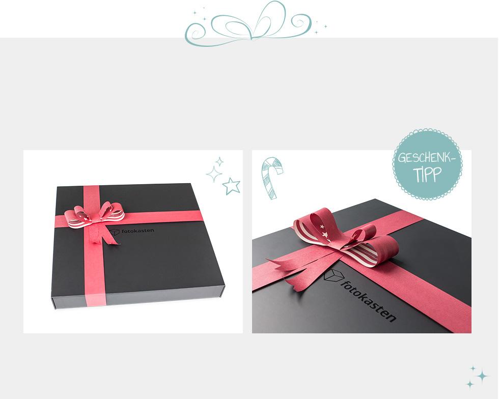 Fotobuch Geschenkebox