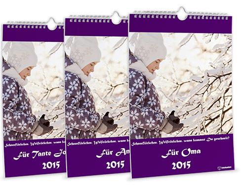 fotokalender tipps kalender online selbst gestalten f r 2017. Black Bedroom Furniture Sets. Home Design Ideas