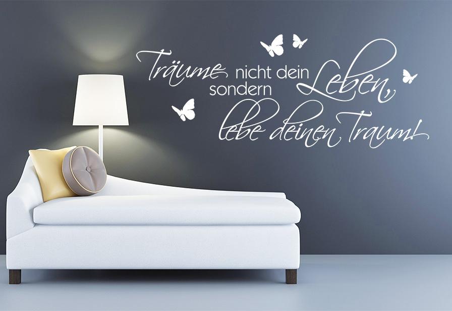 wandtattoo wallsticker aufkleber f r die wand online. Black Bedroom Furniture Sets. Home Design Ideas
