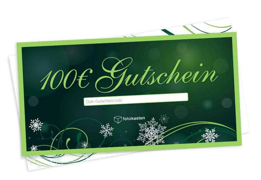 50€ fotokasten Gutschein