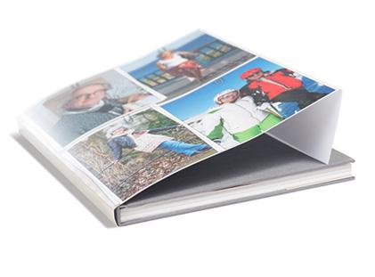 Fotobuch Leinen mit Umschlag A4 hoch