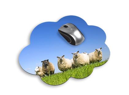 Mousepad Wolke