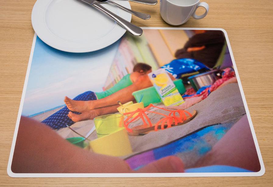 tischset mit eigenem personalisiertem foto online gestalten. Black Bedroom Furniture Sets. Home Design Ideas
